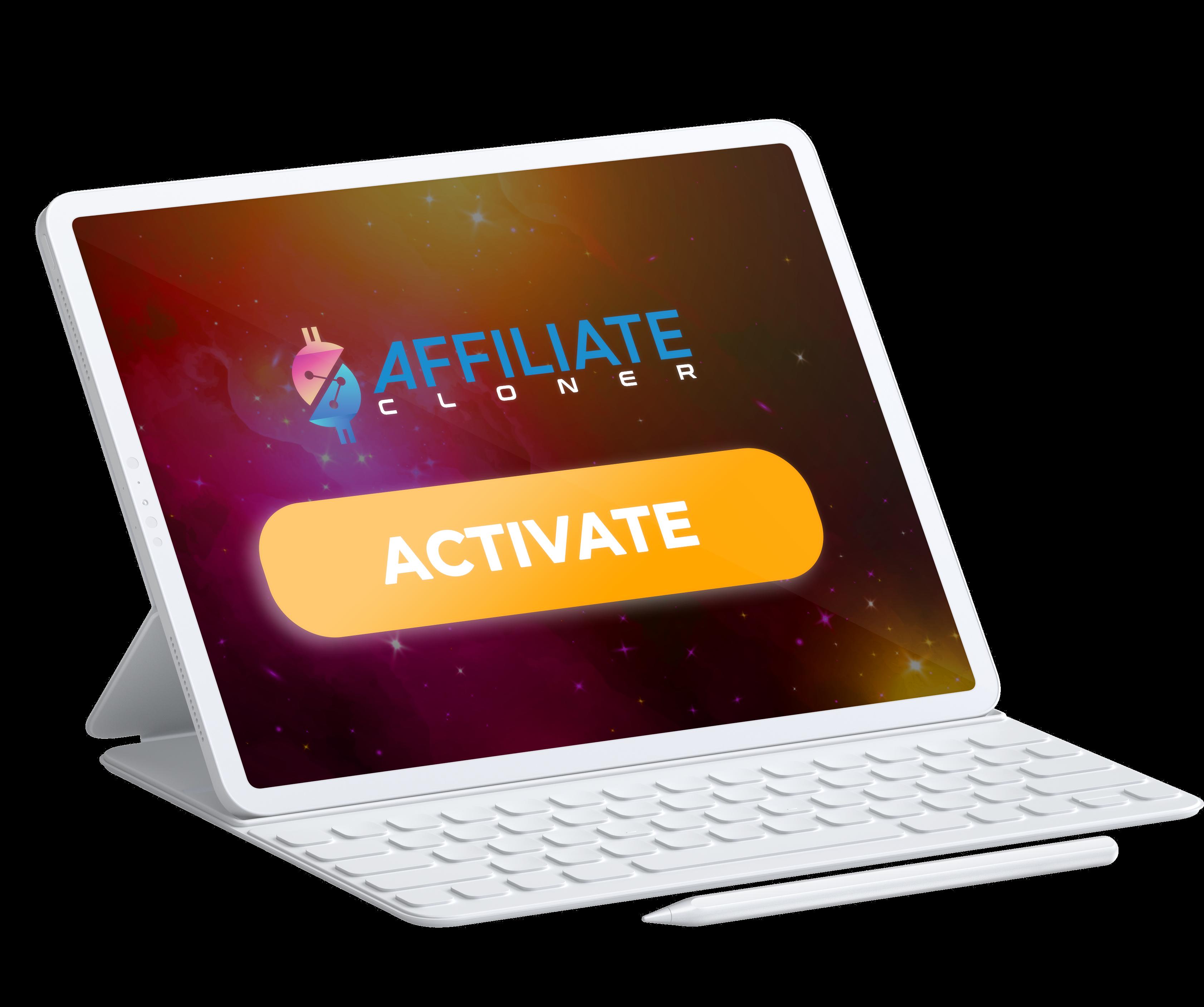 Affiliate Cloner Step 3 - Activate